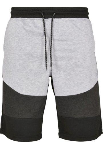 Kraťasy sportovní Southpole Color Block Tech - černé-šedé, S