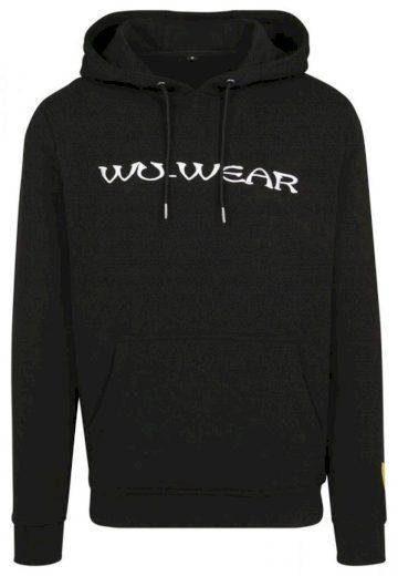 Mikina s kapucí Wu-Wear Embroidery Hoody - černá, S