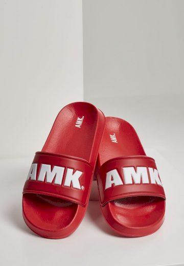 Sandále AMK Slides - červené, 40
