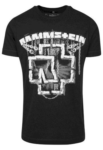 Triko Rammstein In Ketten Tee - černé, 3XL
