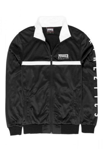 Bunda Pusher Athletics Track Jacket - černá, S