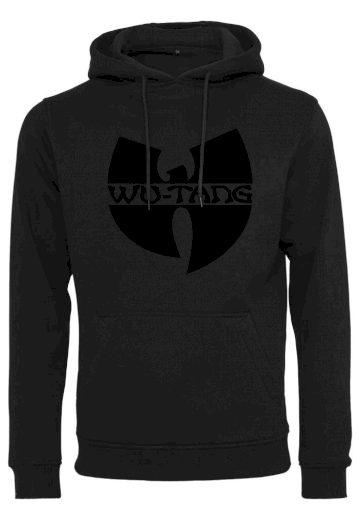 Mikina s kapucí Wu-Wear Black Logo - černá, XS