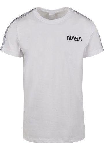 Triko Mister Tee NASA Rocket Tape - bílé, XS