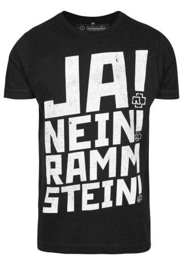 Triko Rammstein Ramm 4 Tee - černé, L