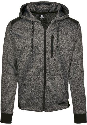 Mikina s kapucí Southpole Marled Tech Fleece - tmavě šedá, L