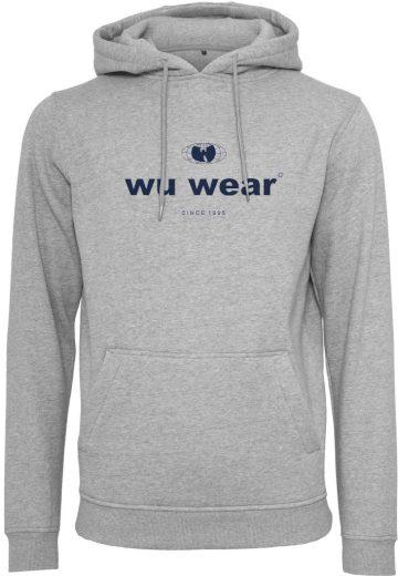 Mikina s kapucí Wu-Wear Since 1995 - šedá, L