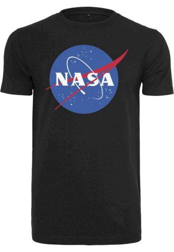 Triko Mister Tee NASA - černé, L