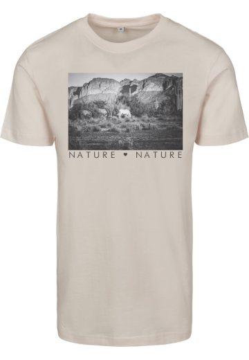 Triko dámské Mister Tee Love Nature - béžové, L
