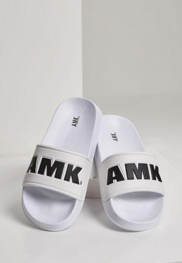 Sandále AMK Slides - bílé, 37