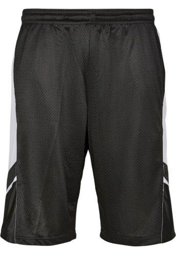 Kraťasy Southpole Basketball Mesh - černé-bílé, S