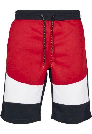 Kraťasy sportovní Southpole Color Block Tech - navy-červené, L