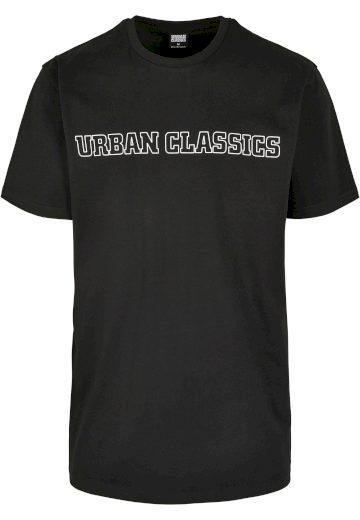 Triko Urban Classics Big Logo - černé, 3XL