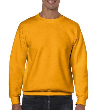 Mikina Gildan Heavy Blend - žlutá, L