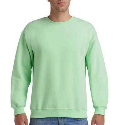 Mikina Gildan Heavy Blend - světle zelená, S