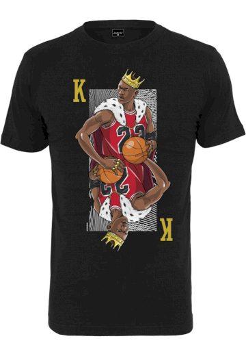 Triko Mister Tee King Mike - černé, XL
