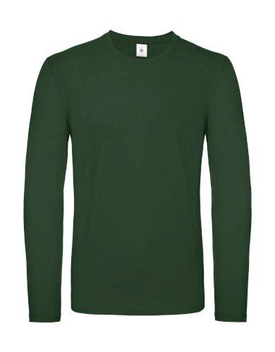 Triko s dlouhým rukávem B&C LSL - zelené, S