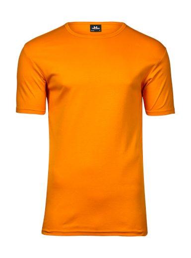 Triko pánské Tee Jays Interlock - oranžové, M