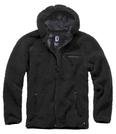 Bunda fleecová Brandit Teddyfleece Worker - černá, 3XL