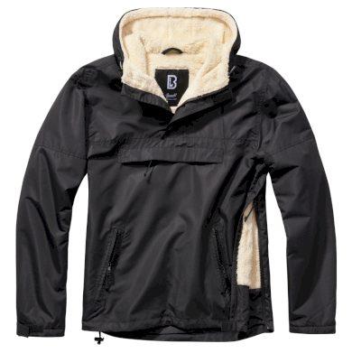 Bunda Brandit Windbreaker Sherpa - černá, L