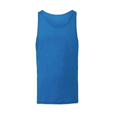 Nátělník Bella Jersey Tank - modrý, M