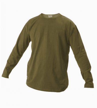 Tričko s dlouhým rukávem Xfer 160 - olivové, M