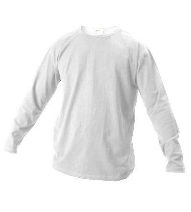 Tričko s dlouhým rukávem Xfer 160 - bílé, M
