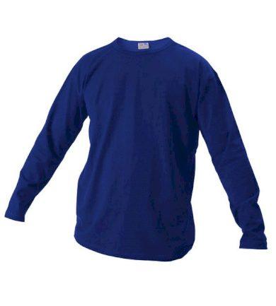 Tričko s dlouhým rukávem Xfer 160 - modré, L