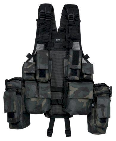 Vesta Brandit Tactical Vest - darkcamo