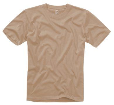 Tričko Brandit Tee - béžové, 4XL
