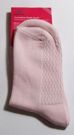 Green World Ponožky zdravotní s turmalínem dámské - růžové