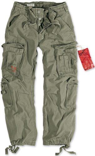 Kalhoty Airborne Vintage - olivové, 6XL