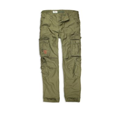 Kalhoty Airborne Vintage Slimmy - olivové, S