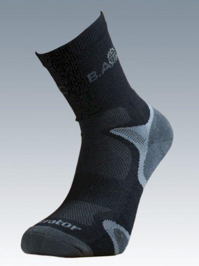 Ponožky se stříbrem Batac Operator - černé, 23-24 = EU 35-37