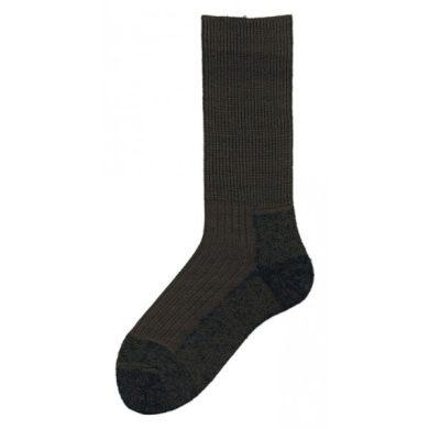 Ponožky Knitva Termo 2000 - olivové, 3-5