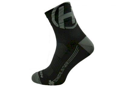 Ponožky Haven Lite Neo 2 ks - černé-šedé, 6-7