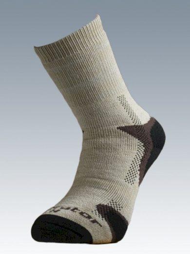 Ponožky se stříbrem Batac Operator Thermo - pískové, 23-24 = EU 35-37