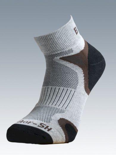 Ponožky se stříbrem Batac Operator Short - pískové, 25-26 = EU 38-40
