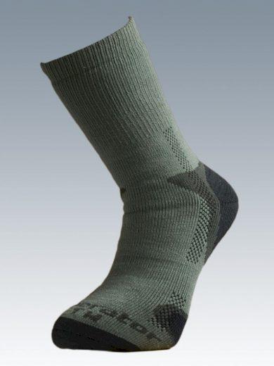 Ponožky se stříbrem Batac Operator Thermo - zelené, 23-24 = EU 35-37