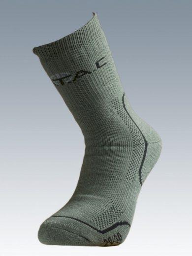Ponožky se stříbrem Batac Thermo - zelené, 23-24 = EU 35-37