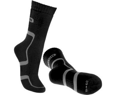 Ponožky Bennon Trek Sock - černé-šedé, 45-47