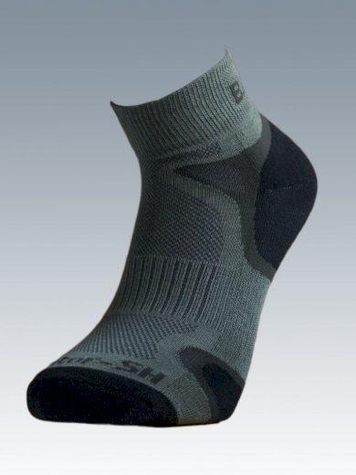 Ponožky se stříbrem Batac Operator Short - zelené, 23-24 = EU 35-37