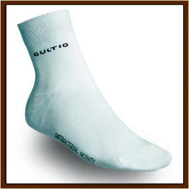 Středně snížené ponožky - bílé, 23-24 = EU 35-37