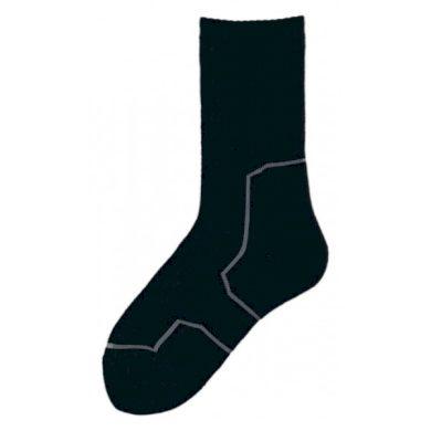 Ponožky Knitva Silver 2000 - černé, 6-7