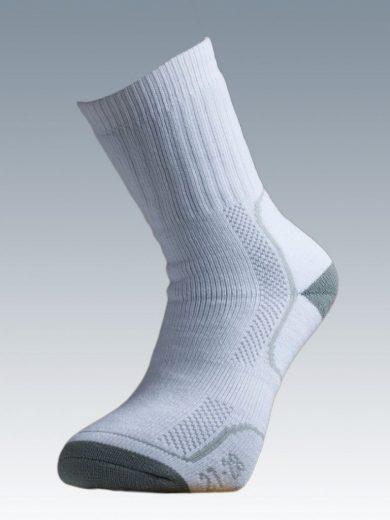 Ponožky se stříbrem Batac Thermo - bílé, 23-24 = EU 35-37