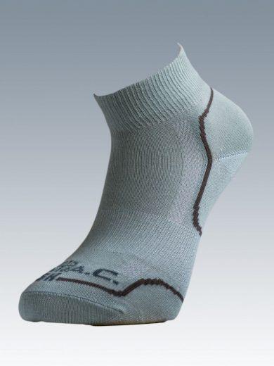 Ponožky se stříbrem Batac Classic Short - světle zelené, 23-24 = EU 35-37