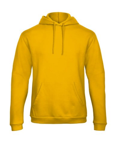 Mikina B&C Unida - žlutá, XL
