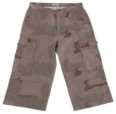 Outdoor 3/4 kalhoty - desert, XS