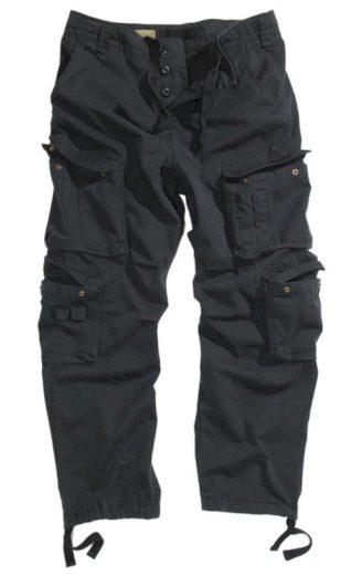 Kalhoty Anton US Vintage - černé, XS