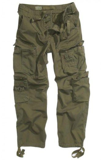 Kalhoty Anton US Vintage - olivové, S