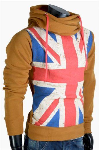 Mikina s kapucí Cinc Jeans England - béžová, XXL
